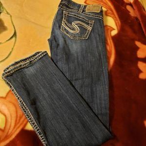Silver Jean's Size: 30
